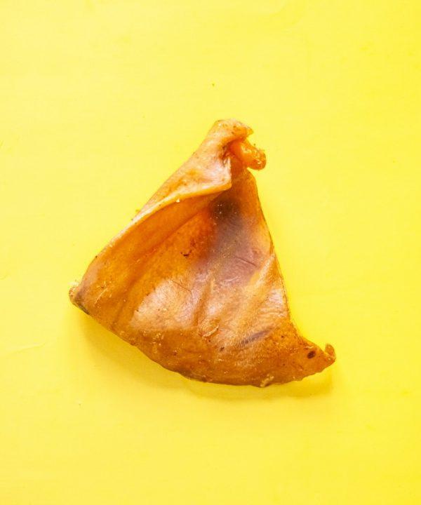 Friandise masticatoire pour chien oreille porc